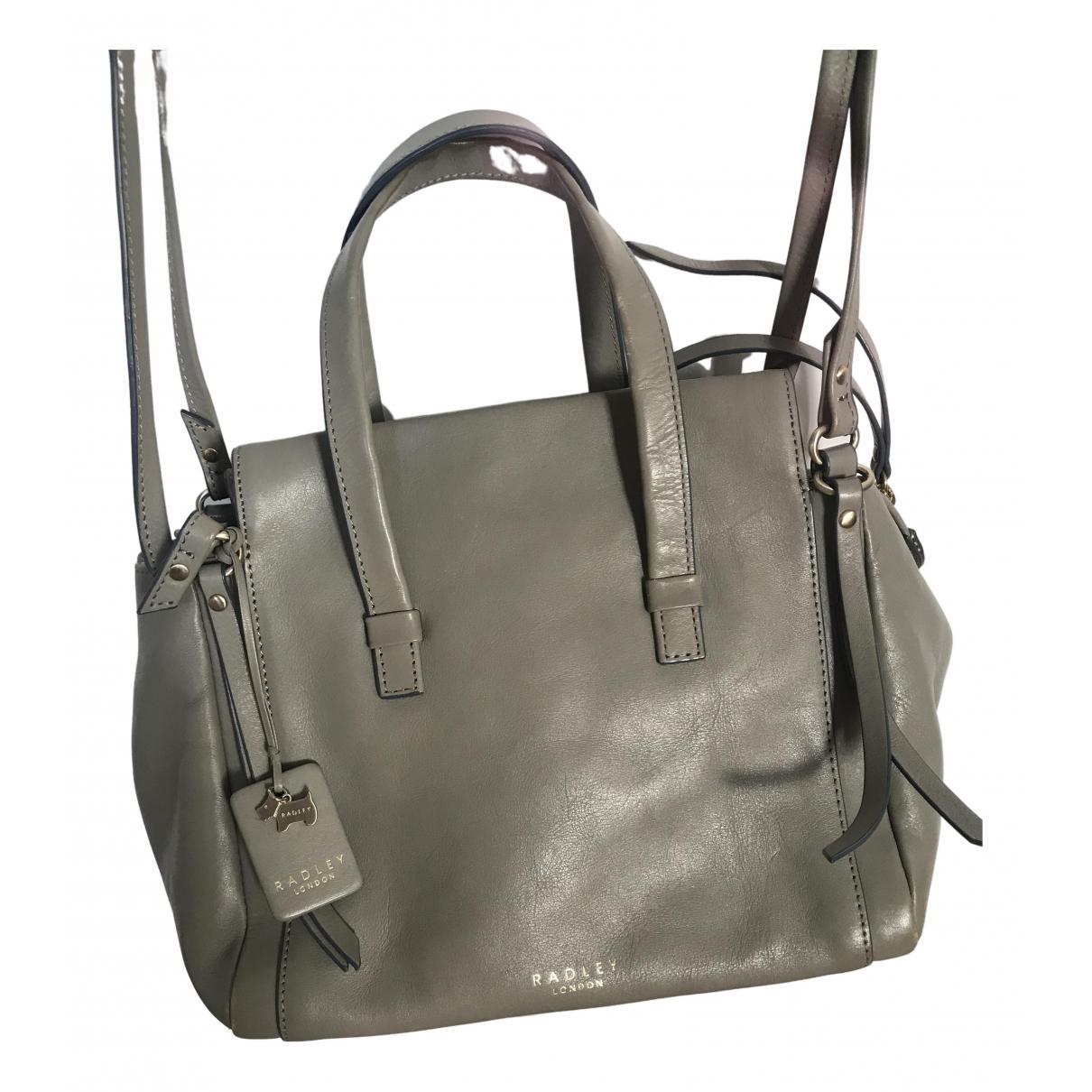 Radley London \N Handtasche in  Grau Leder
