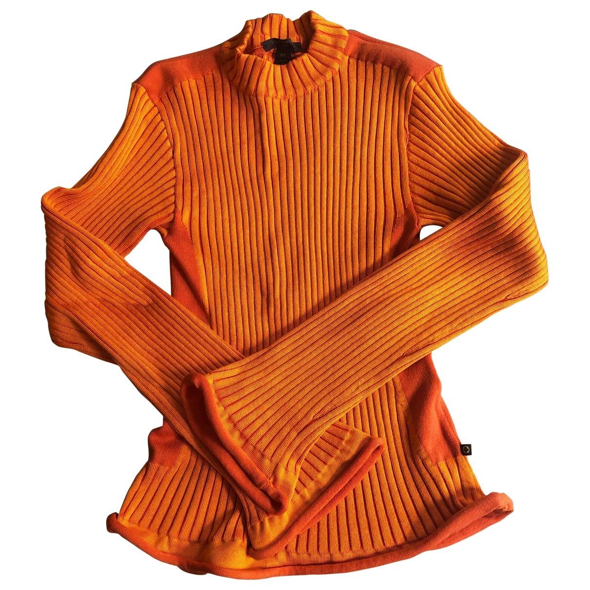 Louis Vuitton - Pull   pour femme en laine - orange