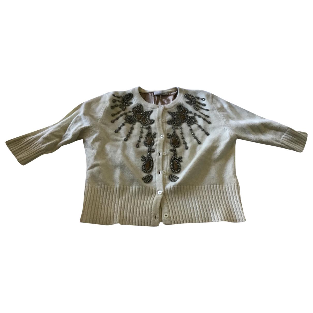 Pinko \N White Wool Knitwear for Women M International