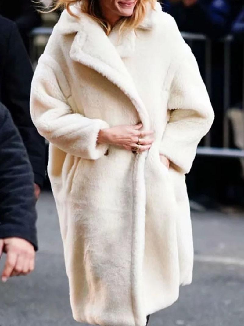 Ericdress Regular Loose Button Winter Lapel Overcoat