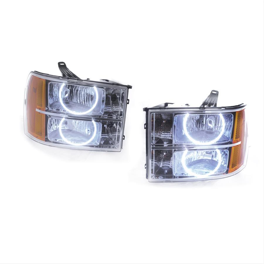 Oracle Lighting 7007-330 2007-2013 Chevrolet Silverado SMD HL - Round Style