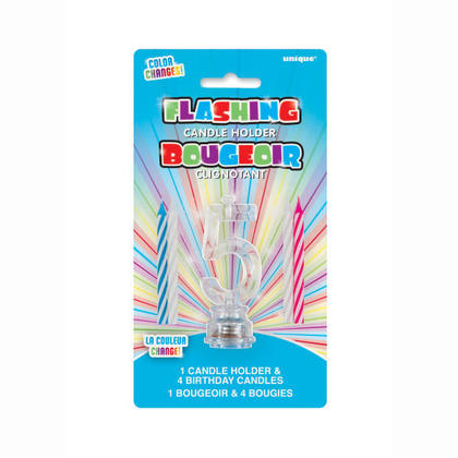 Birthday Candle 4Pcs with Number