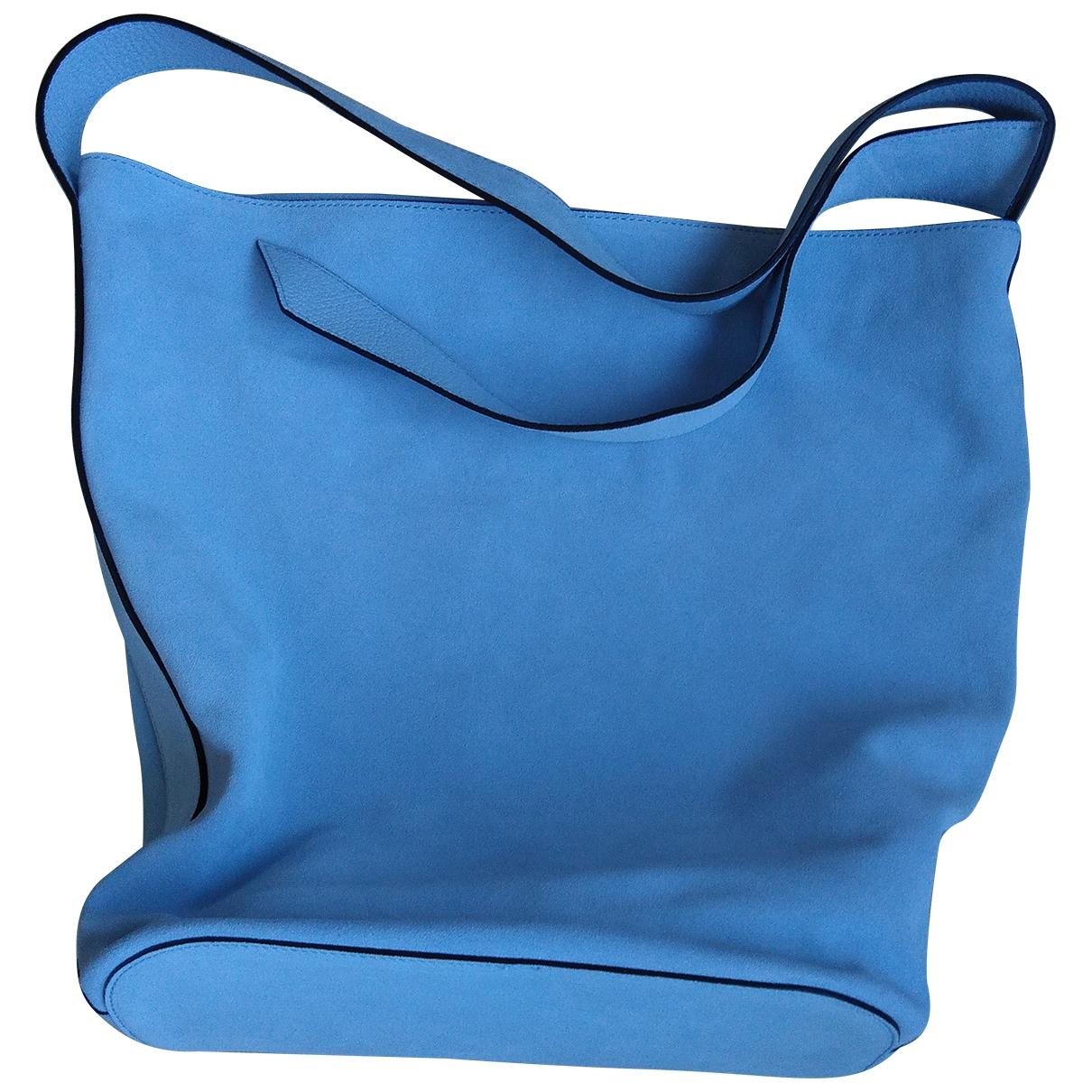 Coccinelle \N Blue Suede handbag for Women \N