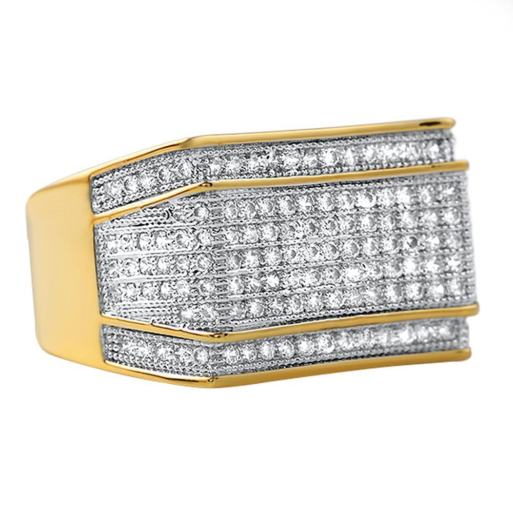 Imperial Gold CZ Ring