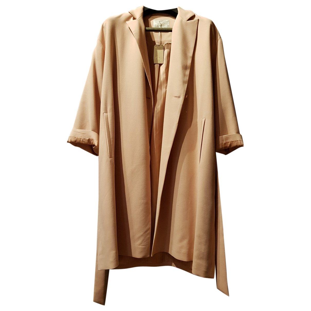 Des Petits Hauts \N Pink coat for Women 0 0-5