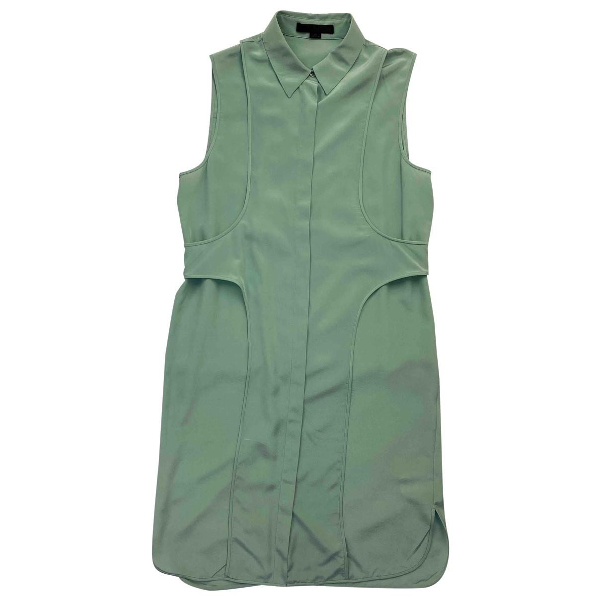 Alexander Wang - Robe   pour femme en soie - vert