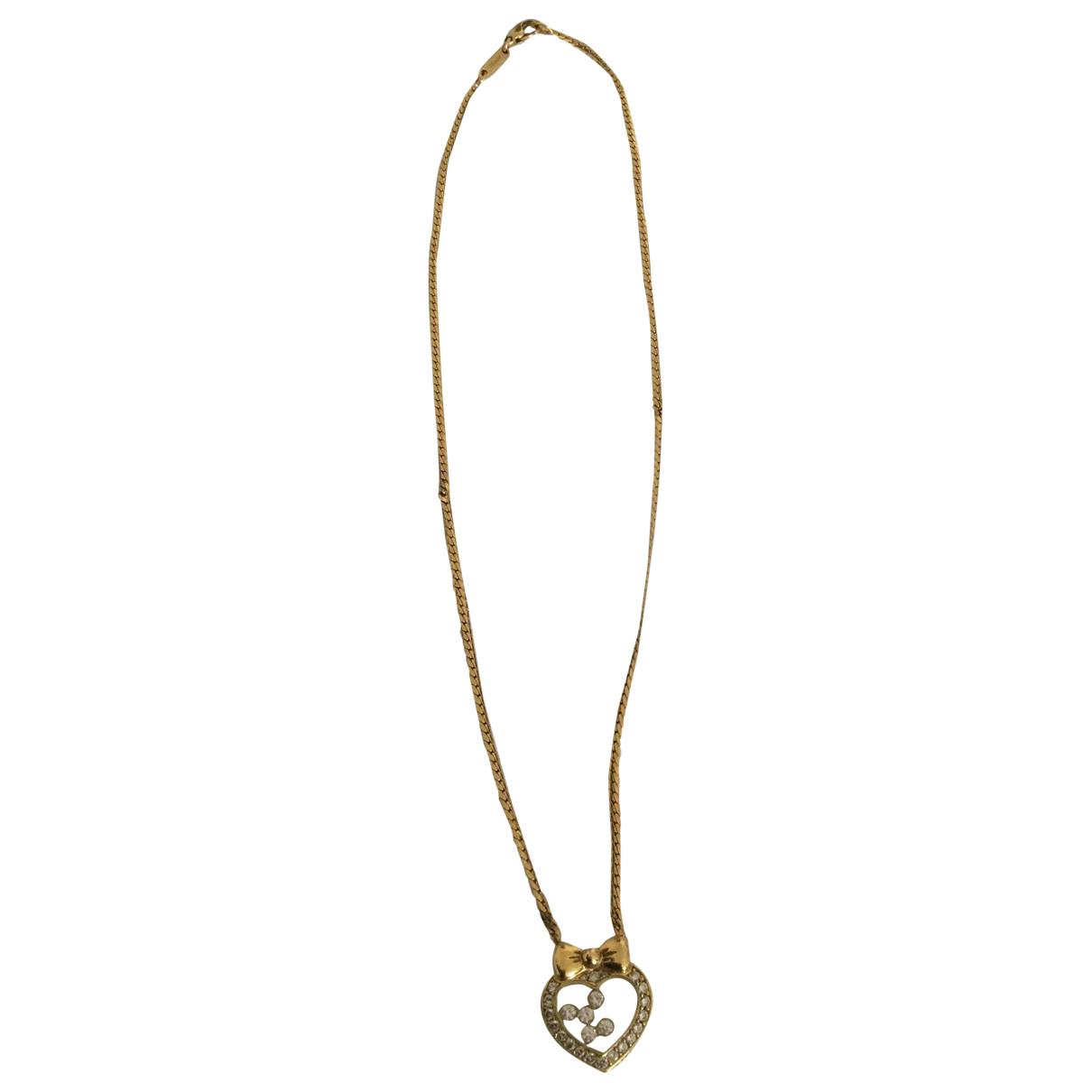 Chopard - Collier Happy Diamonds pour femme en or jaune