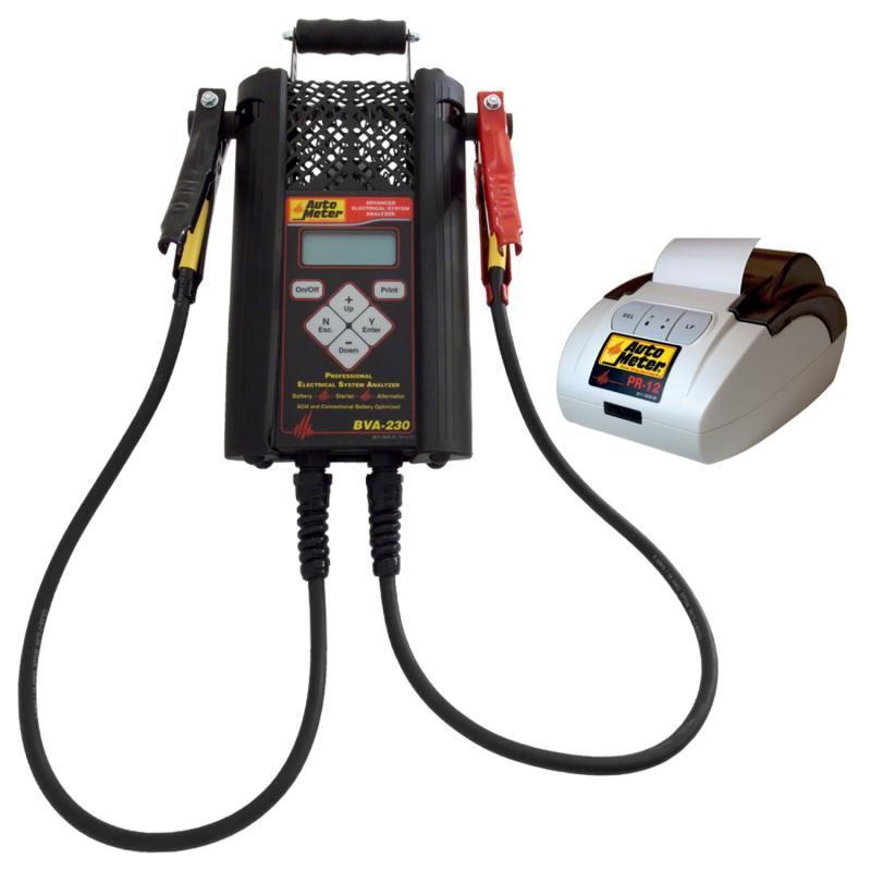 AutoMeter BVA-230 TESTER AND PR-12 PRINTER
