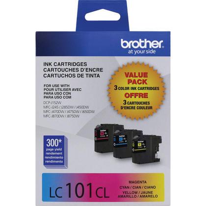 Brother DCP-J152W couleur cartouches d'encre originale cyan/magenta/jaune, ensemble de 3 paquet