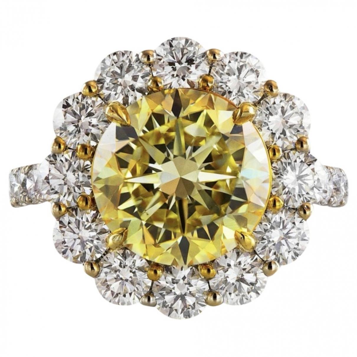 - Bague   pour femme en or blanc - jaune