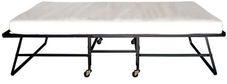 Framos Collection MT-ROLL-39 Twin Size Rollaway Bed with 2
