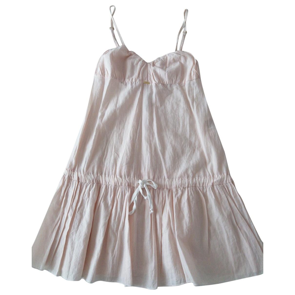 Cycle - Robe   pour femme en coton - rose