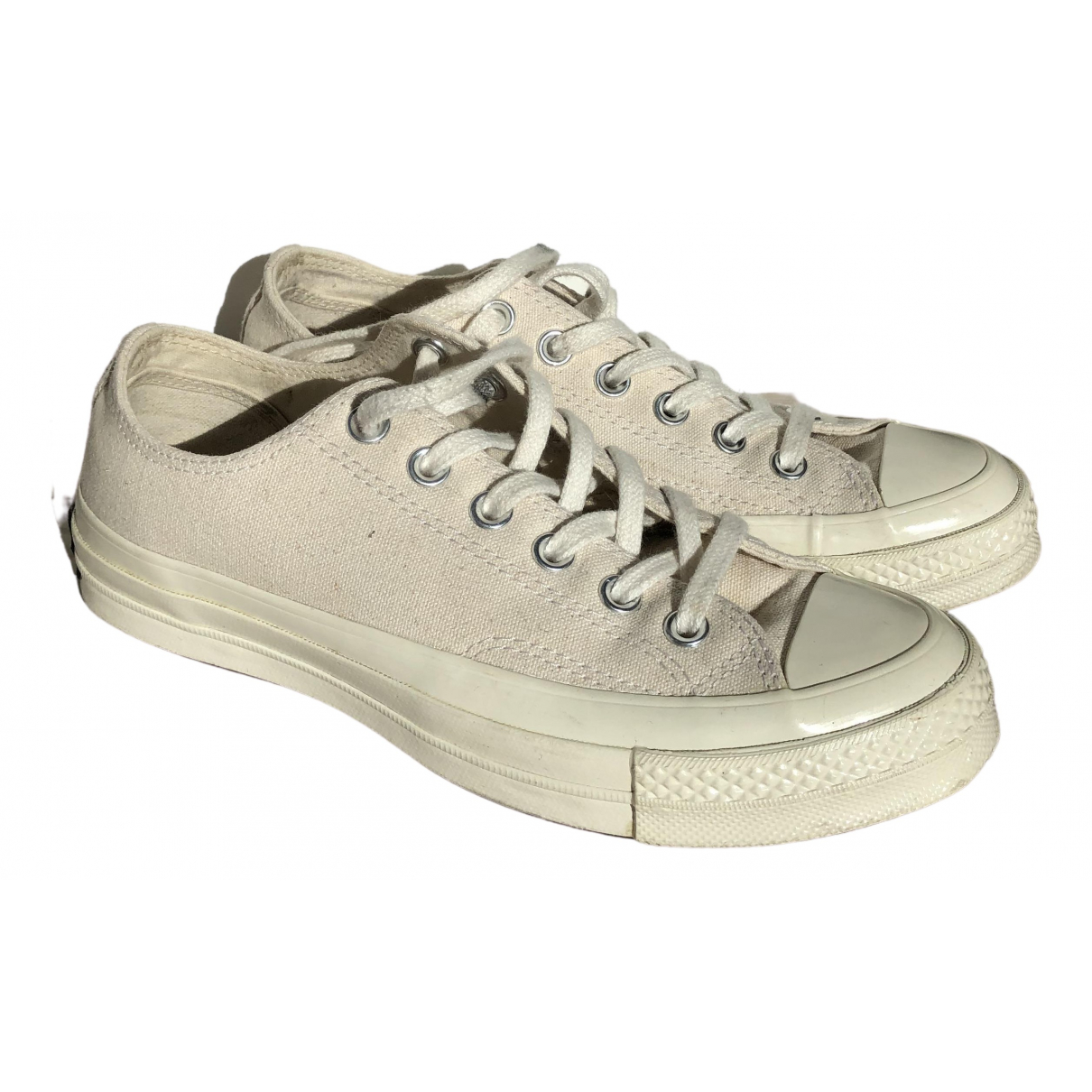 Converse \N Beige Cloth Trainers for Women 37.5 EU