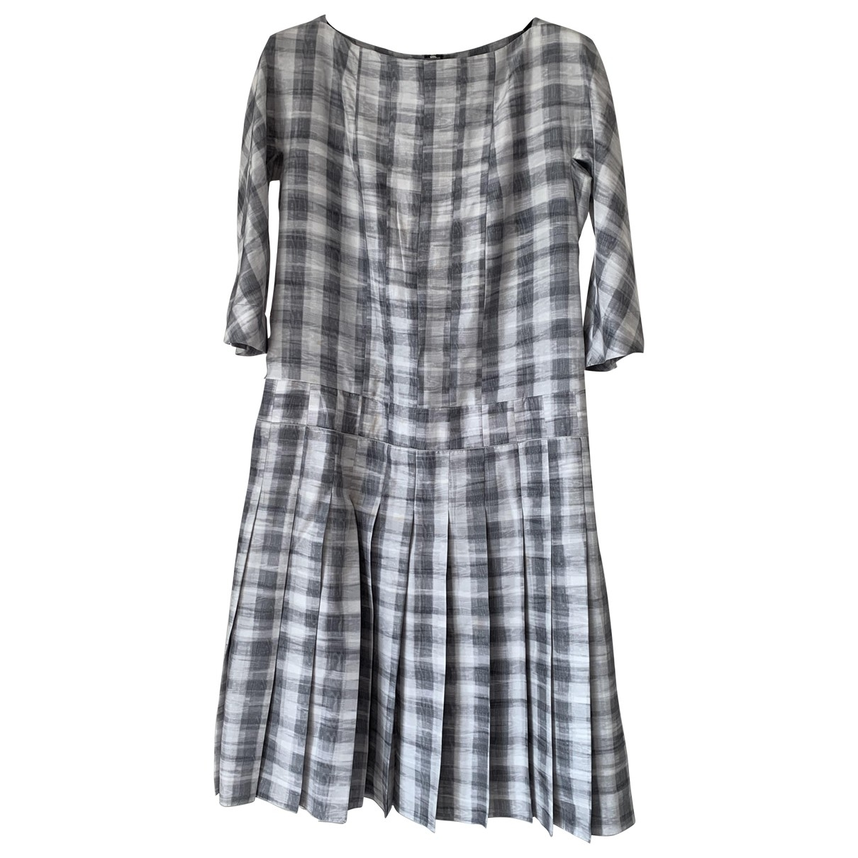 Marc Jacobs \N Grey Silk dress for Women 6 US