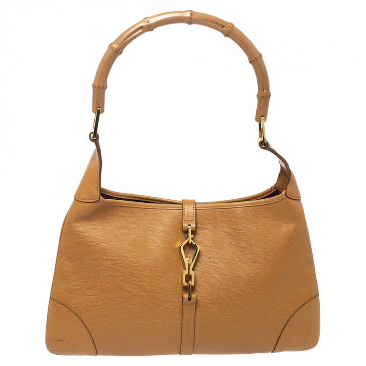 Gucci Jackie Brown Leather handbag for Women N