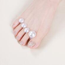 8pcs Pearl Toe Separator