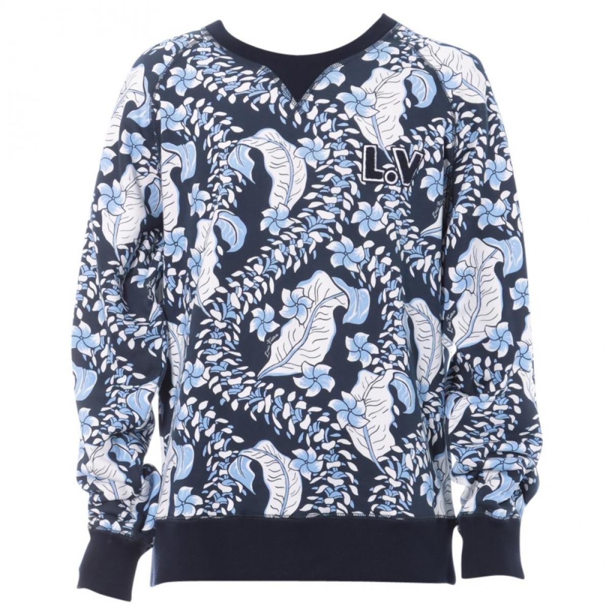 Louis Vuitton \N T-Shirts in  Marine Baumwolle