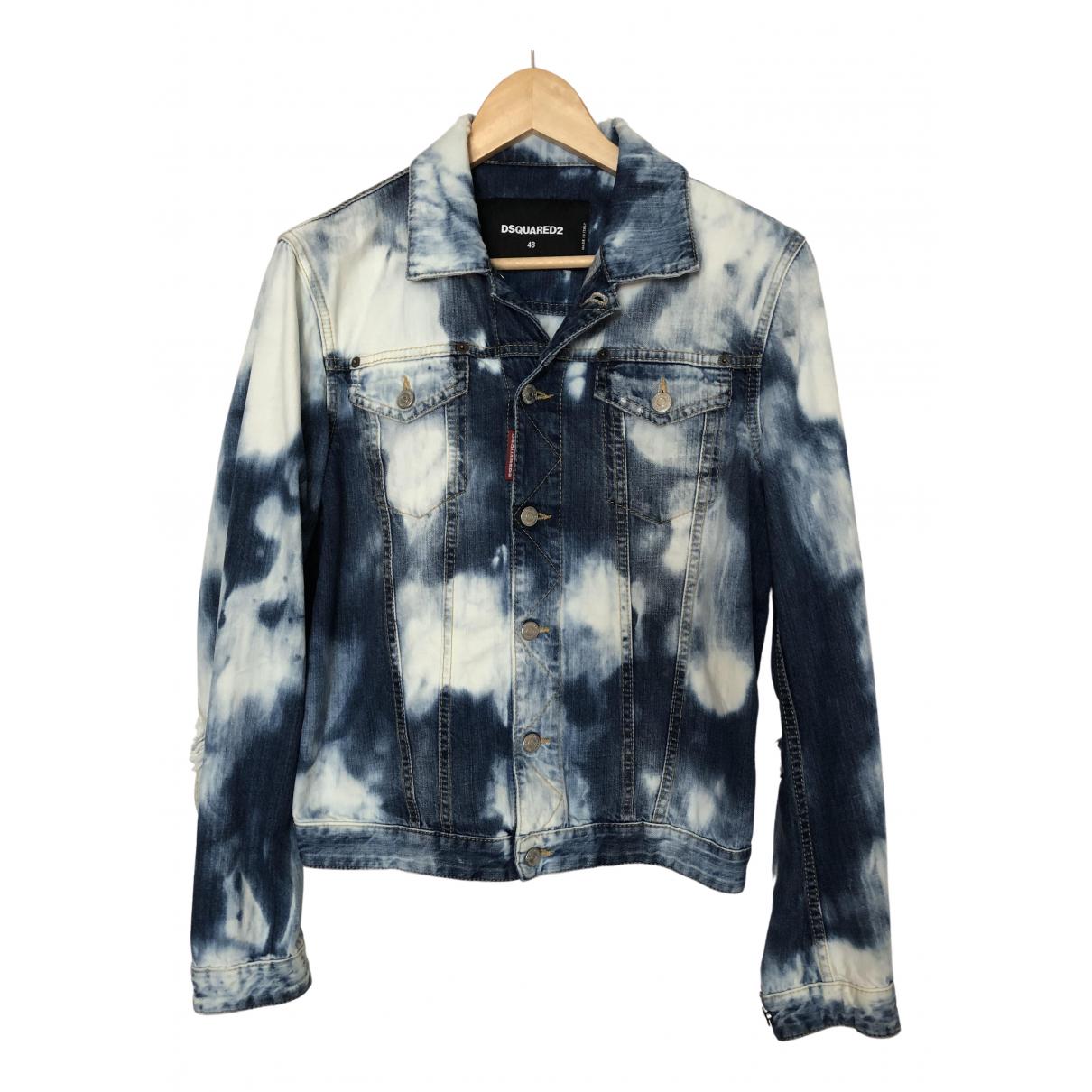 Dsquared2 \N Jacke in  Blau Denim - Jeans