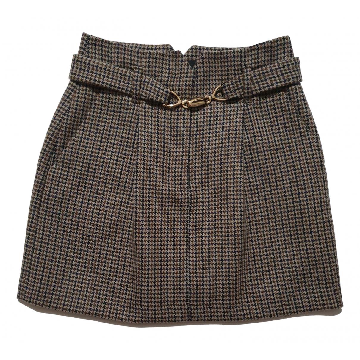 Maje Spring Summer 2020 Multicolour Wool skirt for Women 36 FR