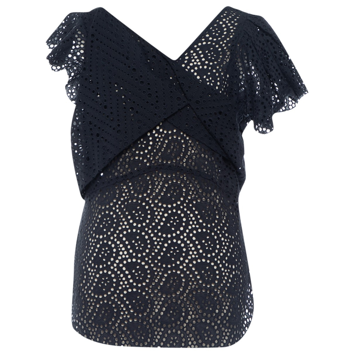 Isabel Marant \N Navy Cotton  top for Women 38 FR
