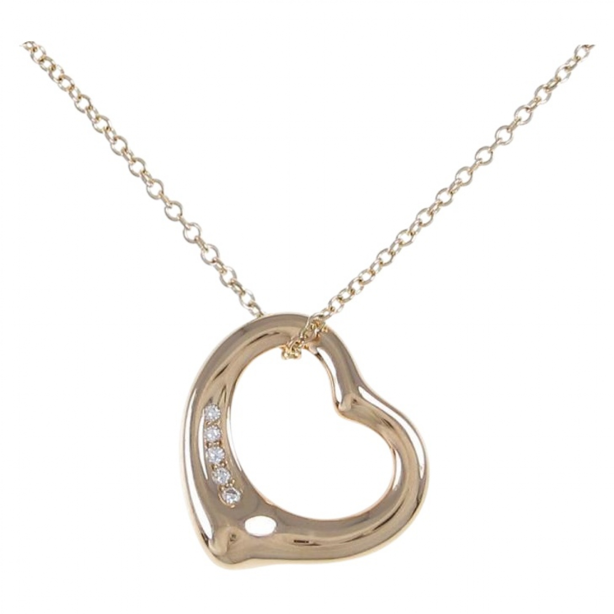 Tiffany & Co Elsa Peretti  Silver Pink gold necklace for Women \N