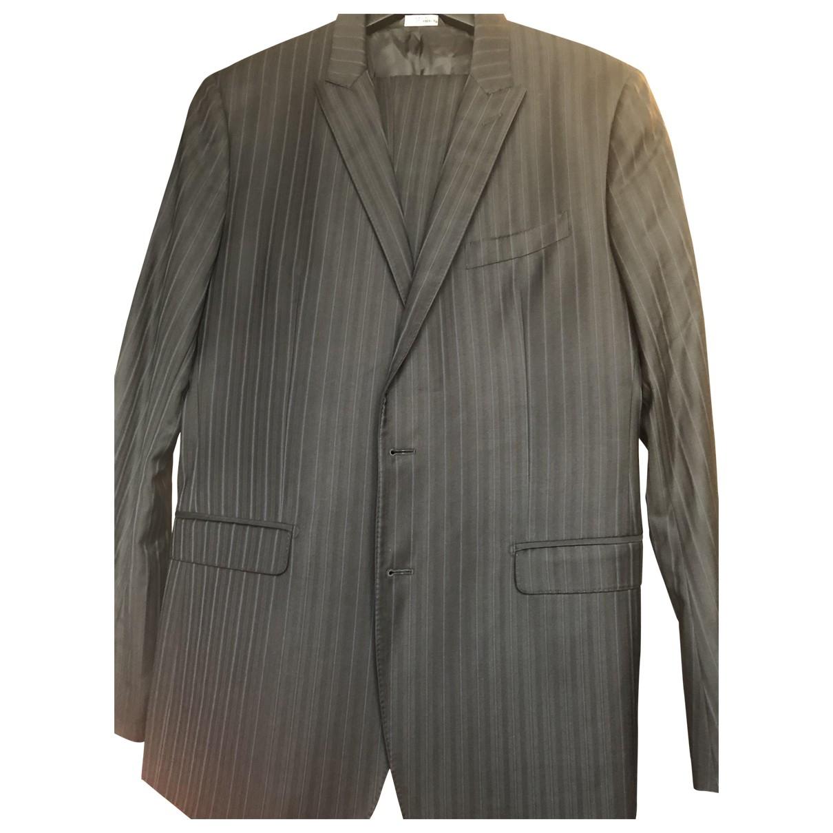 Dolce & Gabbana \N Blue Wool Suits for Men 52 IT