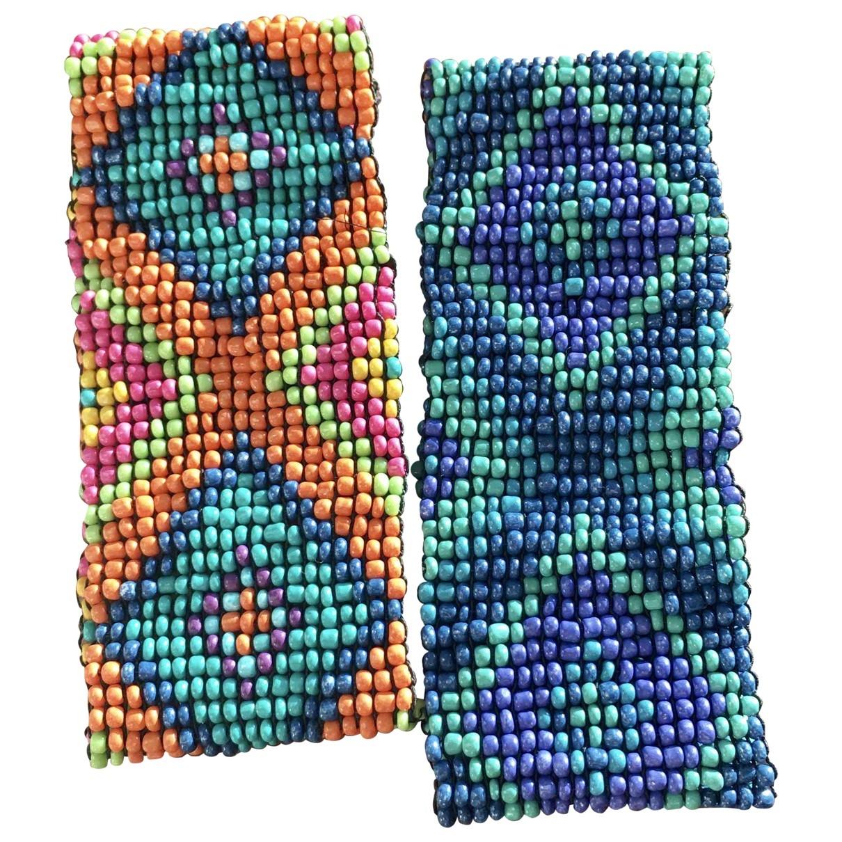 - Bracelet Motifs Ethniques pour femme en cristal - multicolore