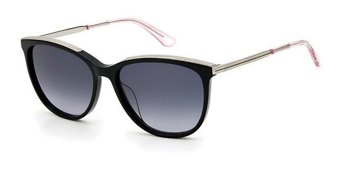 Juicy Couture JU 615/S 807/9O Women's Sunglasses Black Size 55