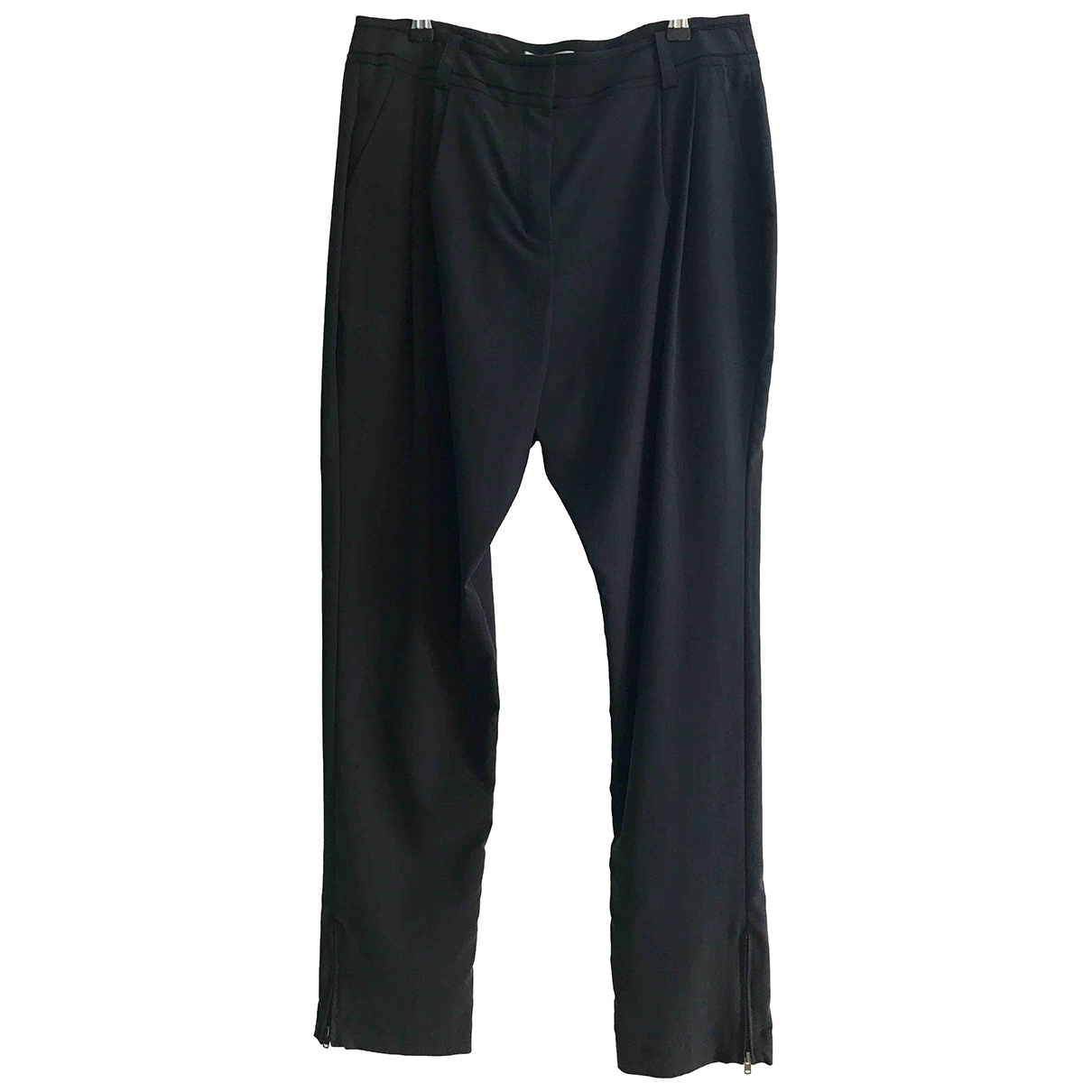 Vanessa Bruno Athe \N Navy Trousers for Women 40 FR
