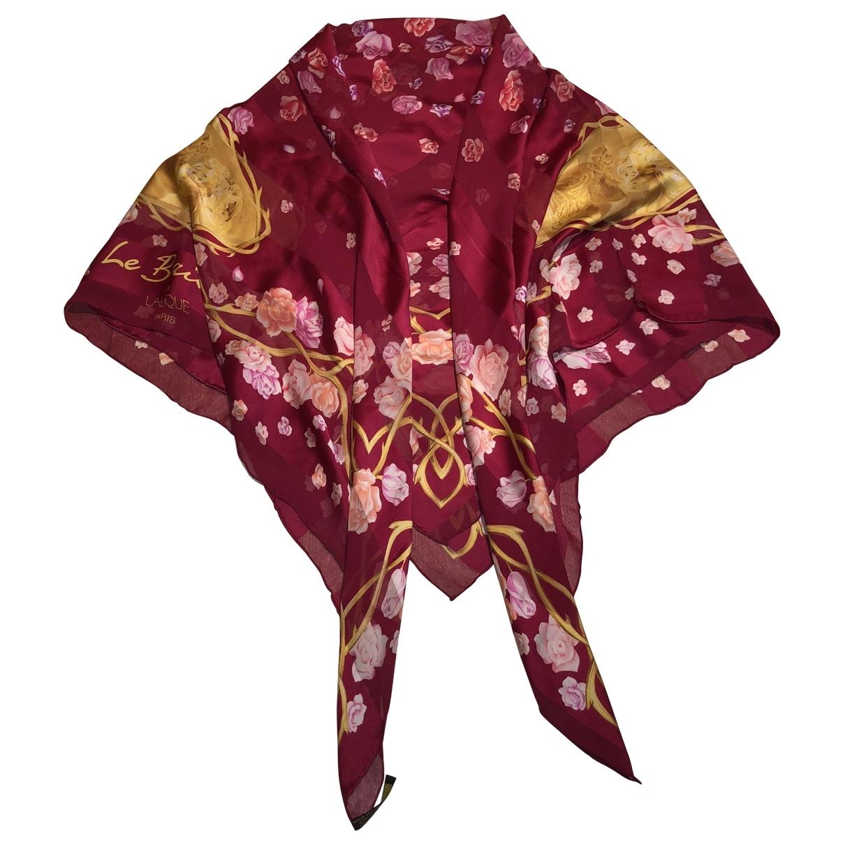 Estola de Seda Lalique