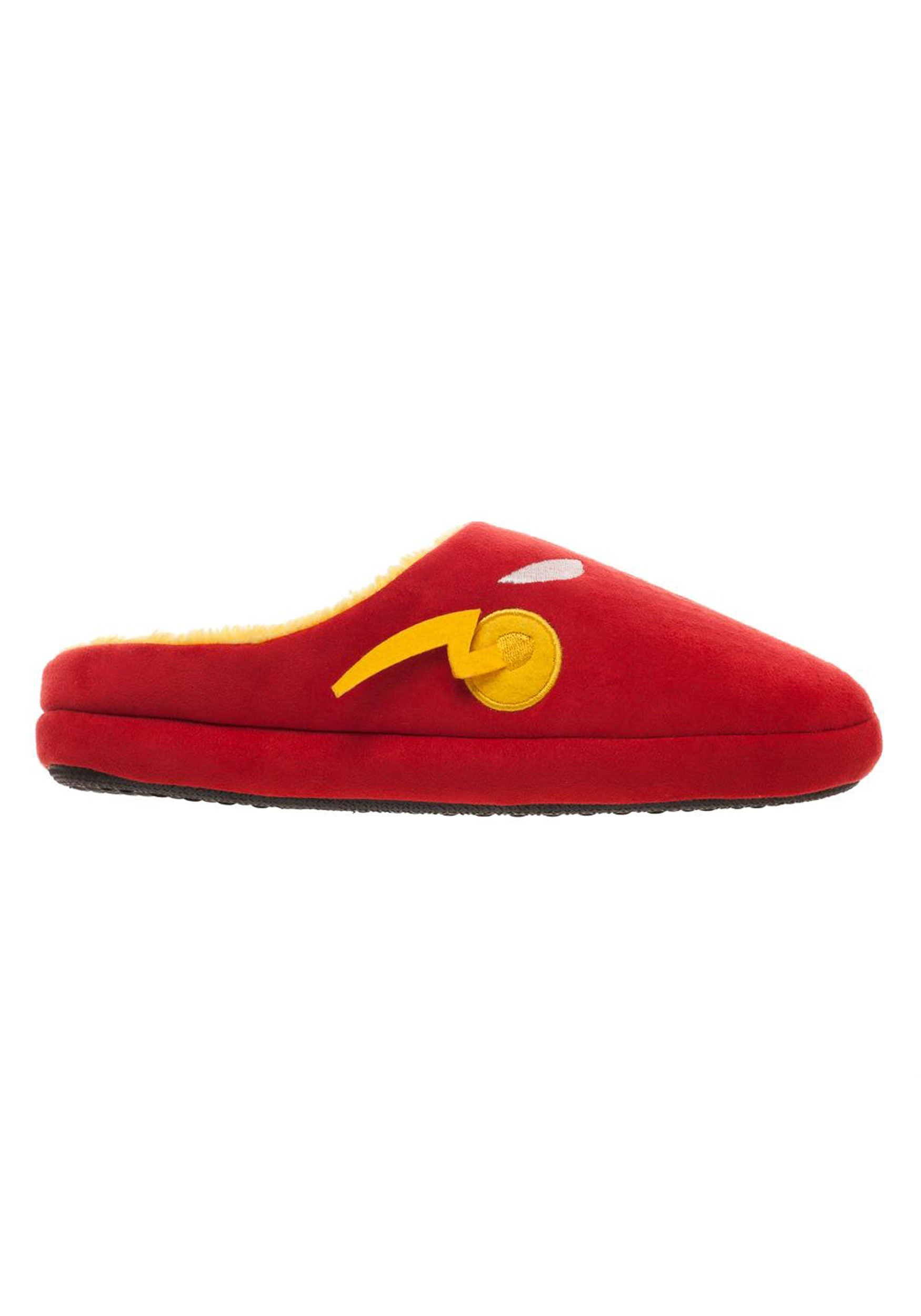The Flash Red Scuff Slippers for Men
