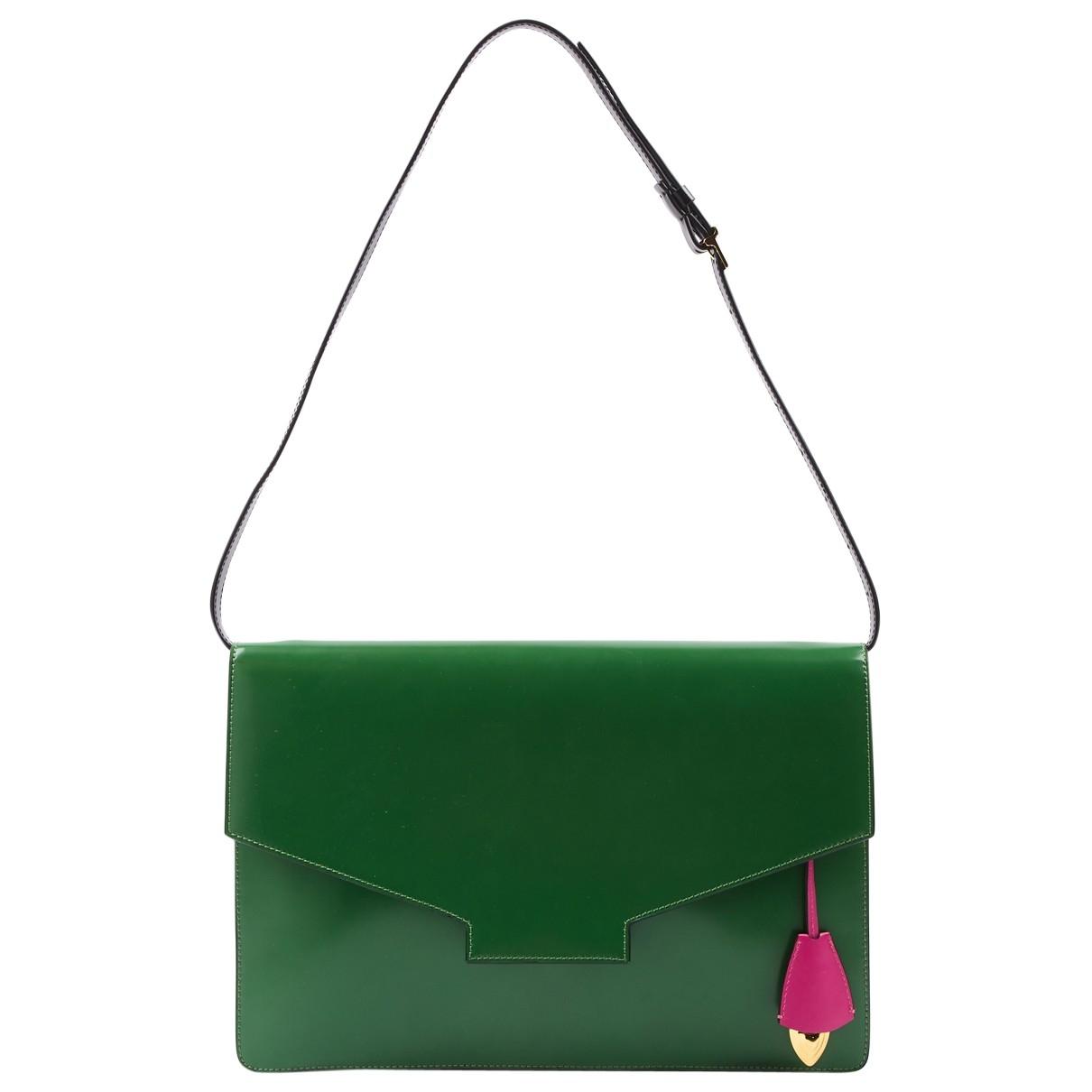 Escada \N Green Leather handbag for Women \N