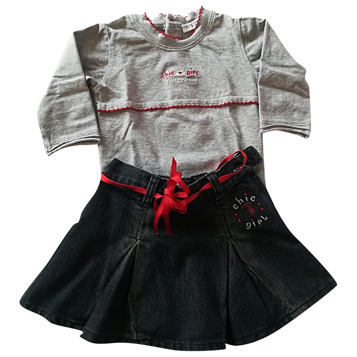 Trussardi - Les ensembles   pour enfant en coton - gris