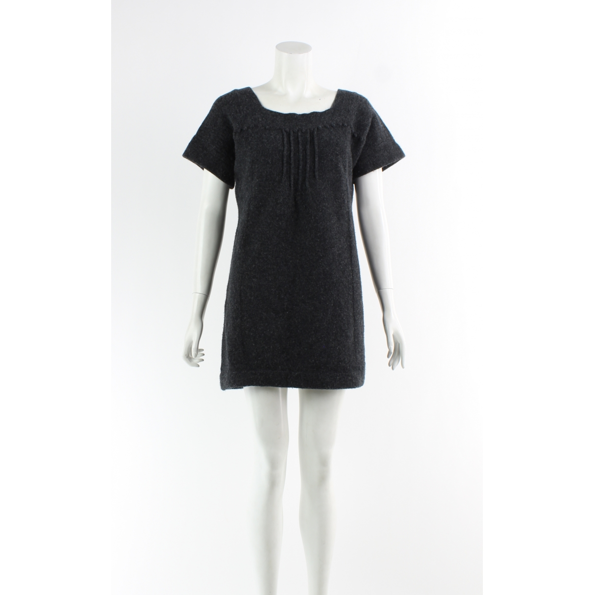 Vanessa Bruno \N Kleid in  Schwarz Wolle