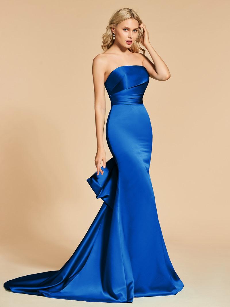Ericdress Sheath Mermaid Strapless Evening Dress