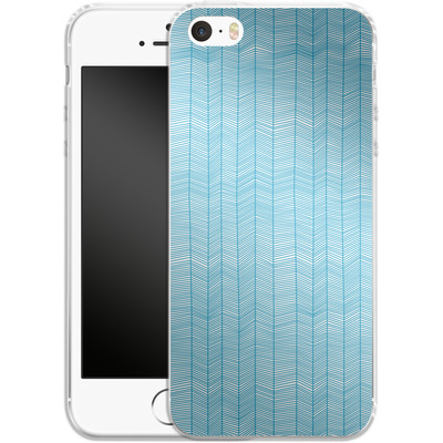 Apple iPhone 5s Silikon Handyhuelle - Fishbone von caseable Designs