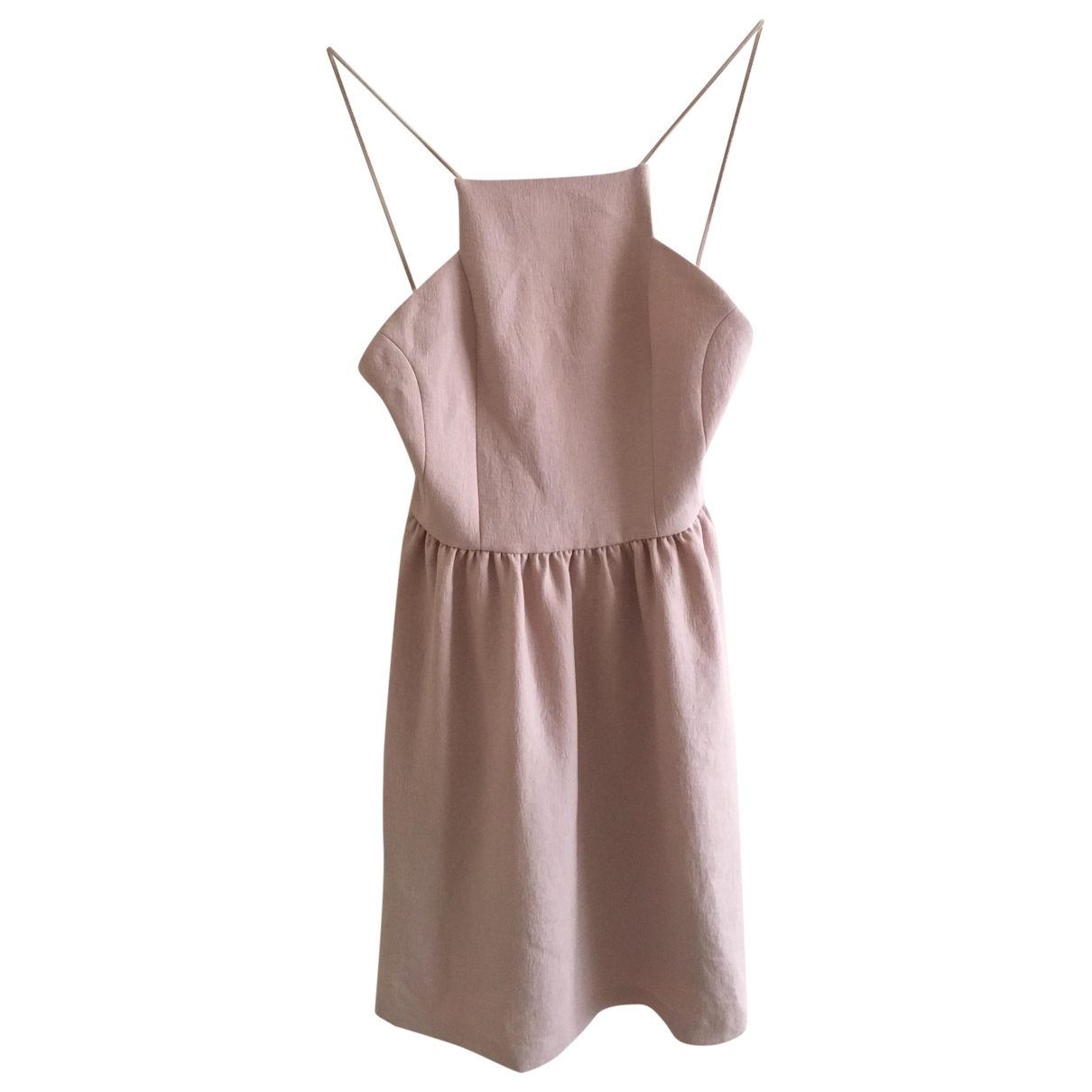 Maje \N Pink dress for Women 36 FR