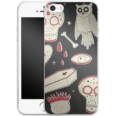 Apple iPhone SE Silikon Handyhuelle - Halloween Essentials von caseable Designs