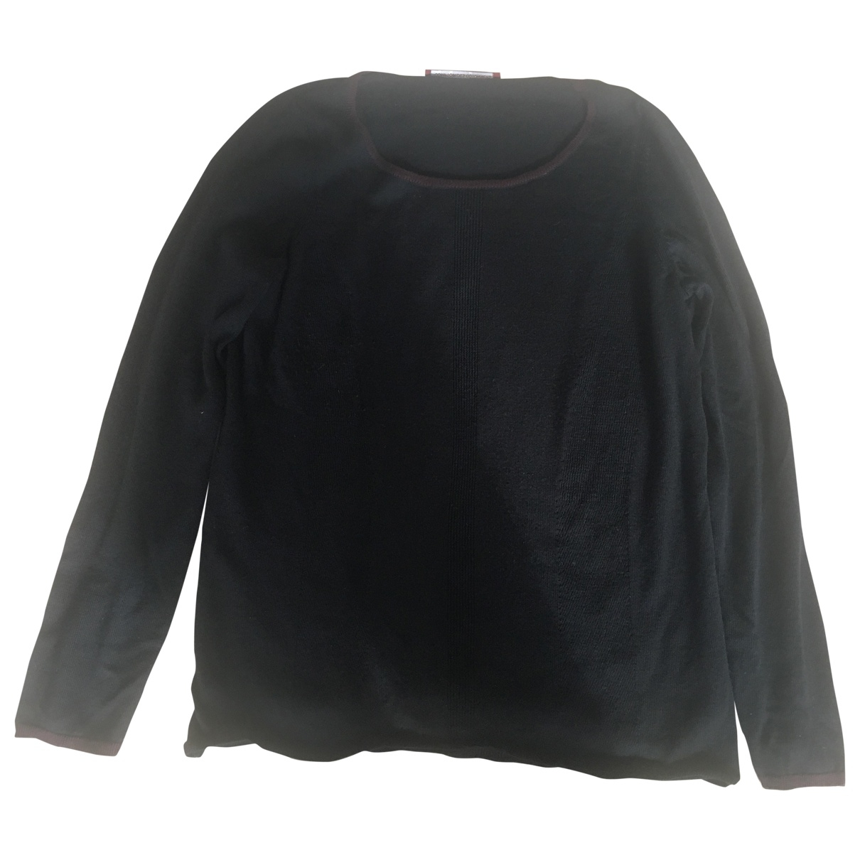 Comptoir Des Cotonniers \N Black Wool Knitwear for Women XL International