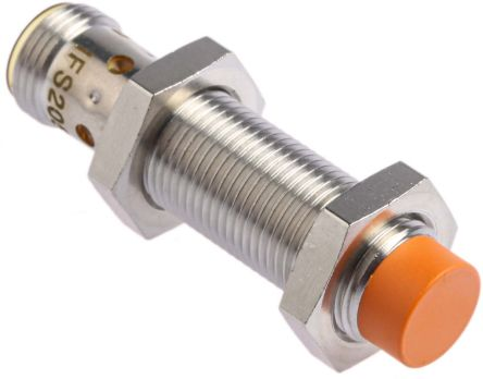ifm electronic M12 x 1 Inductive Sensor - Barrel, PNP-NO Output, 7 mm Detection, IP67, M12 - 4 Pin Terminal
