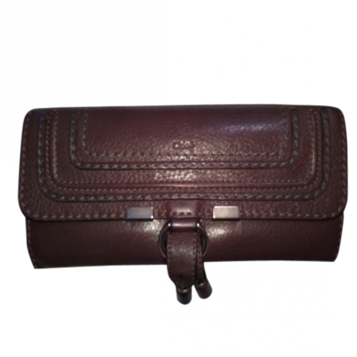 Chloé Marcie Brown Leather wallet for Women \N