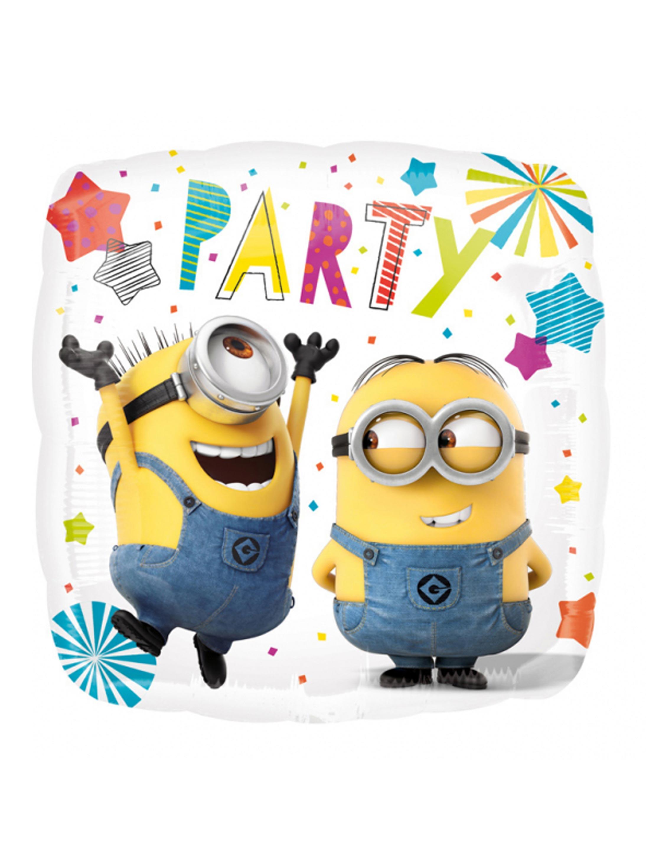Folienballon Minions Party Farbe: gelb