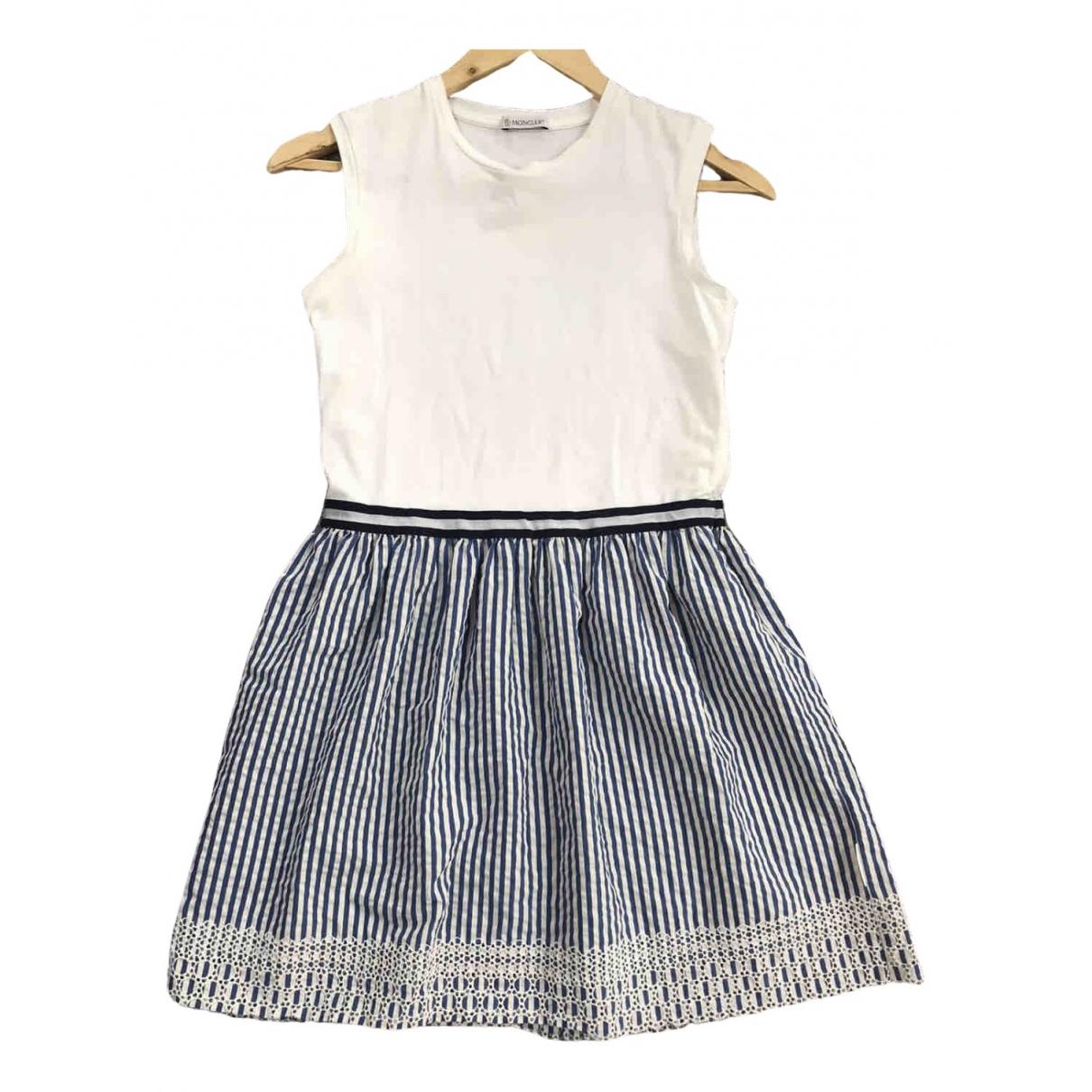 Moncler - Robe    pour enfant en coton - elasthane - multicolore