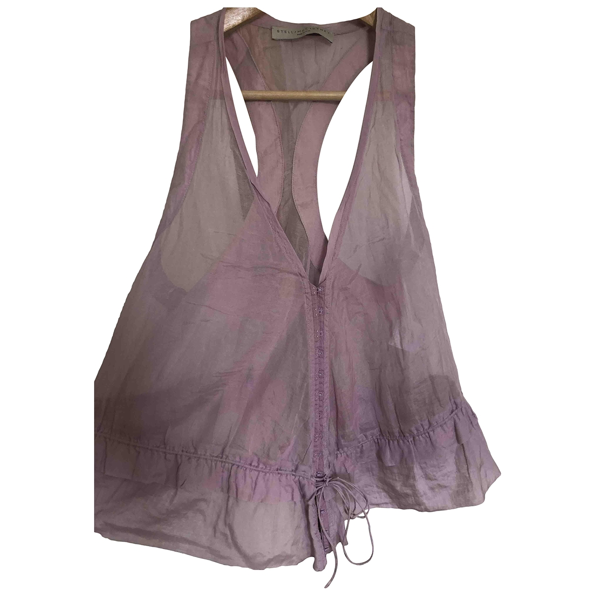 Stella Mccartney \N Purple Cotton  top for Women 40 IT