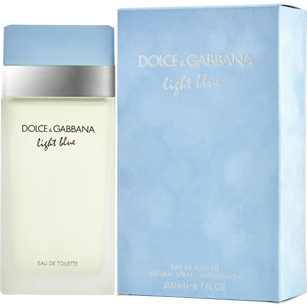 Dolce & Gabbana - Light Blue Pour Femme : Eau de Toilette Spray 6.8 Oz / 200 ml