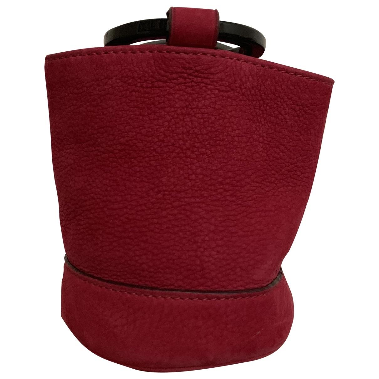 Simon Miller Small Bonsai Handtasche in  Rosa Leder