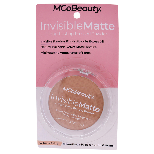 Invisible Matte Long-lasting Pressed Powder - Nude Beige