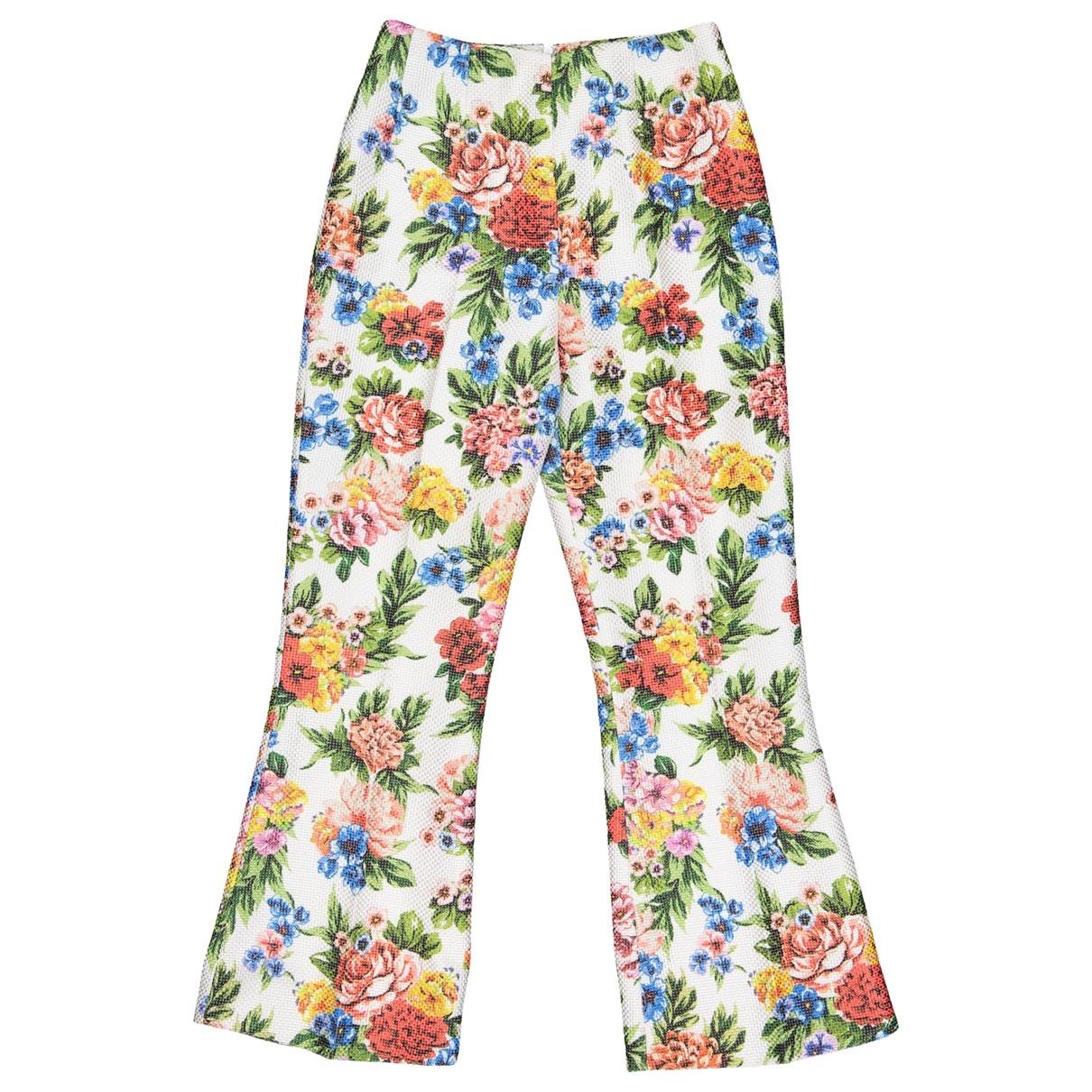 Emilia Wickstead \N Multicolour Trousers for Women 10 UK