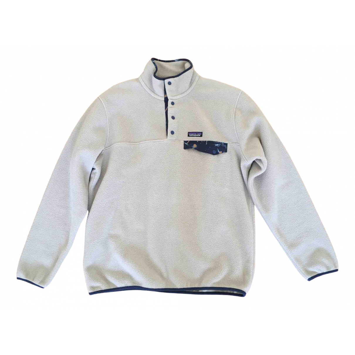 Patagonia \N Pullover.Westen.Sweatshirts  in  Beige Polyester