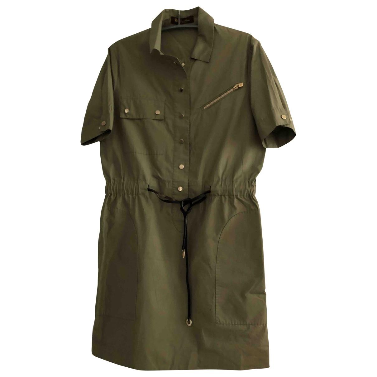 Loro Piana - Robe   pour femme en coton - kaki